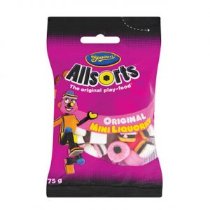 Liquorice All Sorts Mini's 75g