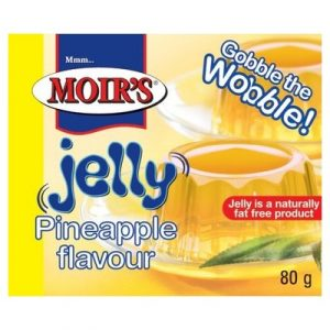 Moirs Jelly Pineapple 80g