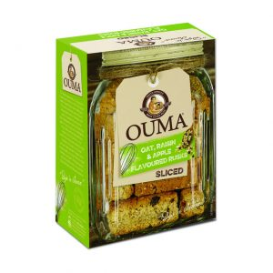 Ouma Rusks Breakfast Apple 450g