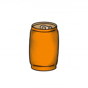 Cans and Juice Boxes