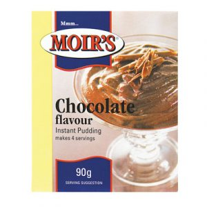 Moirs Chocolate Pudding