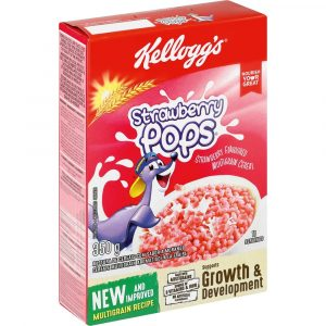 Kellogg's Strawberry Pops