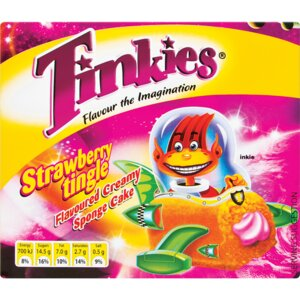 Tinkies Strawberry Tingle Individual/Box
