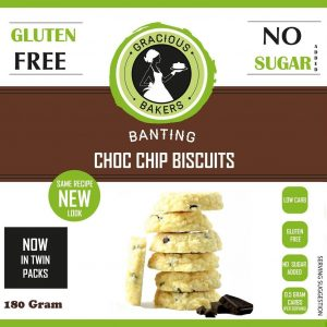 Gracious Baker Choc Chip Biscuits